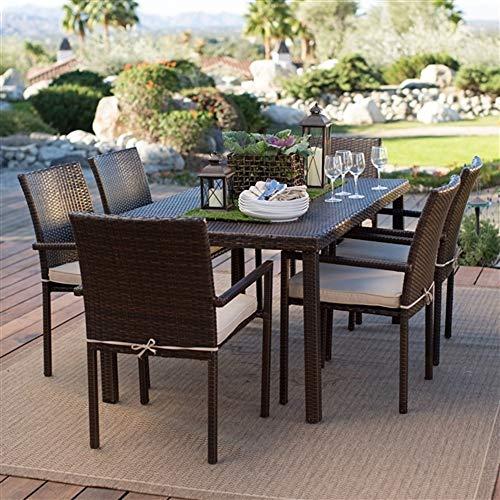 - Dark Brown Weather Resistant Resin Wicker Dining Chair Armchair New Perfect Beautiful Classic Elegant Useful CHOOSEandBUY