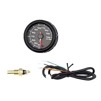 SeaStart - Manómetro indicador de Temperatura de Aceite de ...