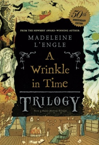 Wrinkle in Time / Wind in the Door / Swiftly Tiltling Planet cover