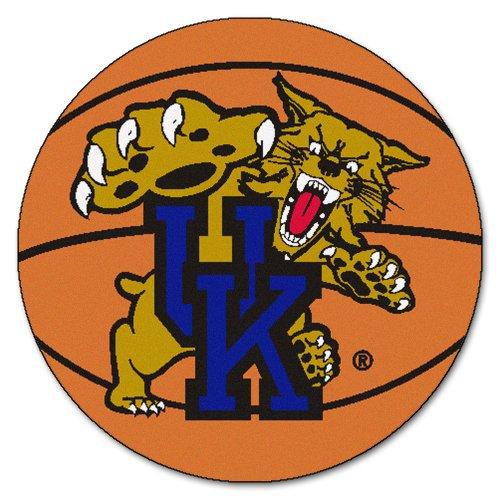 kentucky wildcats basketball shaped