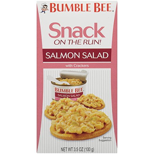 Bumble Bee Snack On The Run Salmon Salad with Crackers Kit, 12 Count