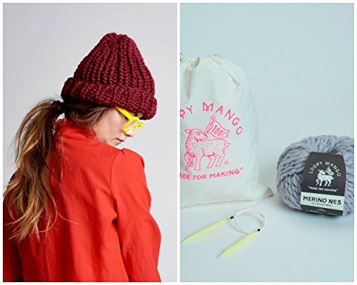 Loopy Mango DIY Kit - Her Beanie (Black) by Loopy Mango