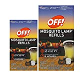 S C JOHNSON WAX 76086 Off Mosquito Lamp Refill, 2-Pack (2 Box)