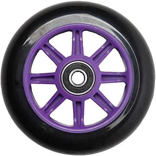Skateboard Wheel with Bearing Replacement Wheel of Scooter Replacement of Skateboard Wheel 100mm Blue/&Black 4PCS