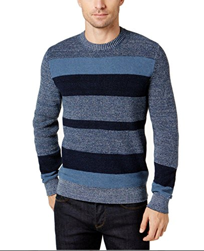 Tommy Hilfiger Men's Ian Stripe Sweater (XXL)