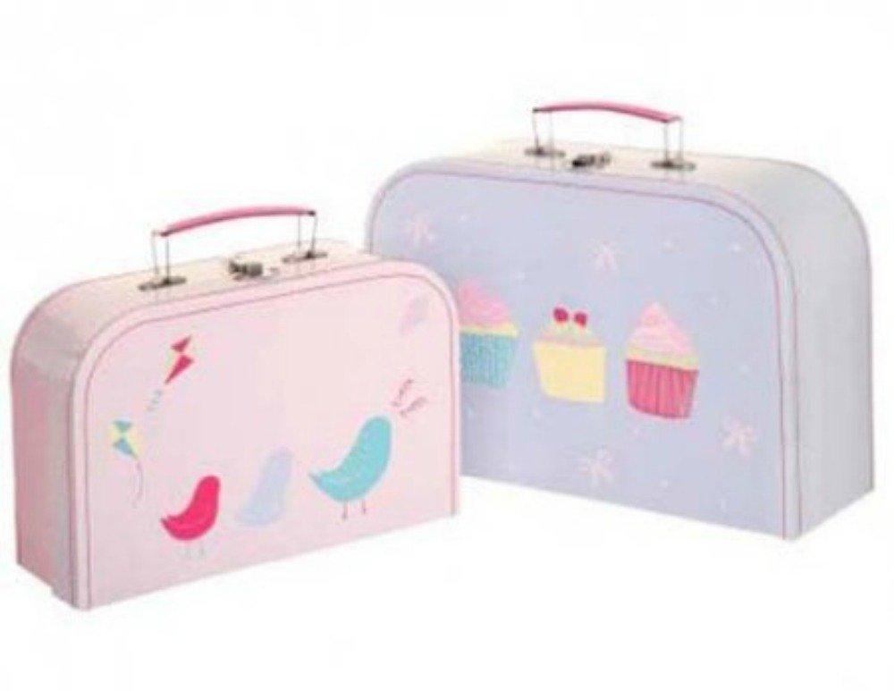 Set de 2 decorativos de azúcar y especias con las maletas de los niños: Amazon.es: Hogar