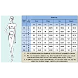MISSKY Women Pullover Stripe Pocket 3/4 Long Sleeve Slim Hoodie Sweatshirt Dress Grey L