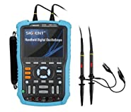 "Siglent SHS806 Handheld Oscilloscope, 60MHz, 2-Channel, Multimeter Mode, 5.7"" TFT-LCD Display"