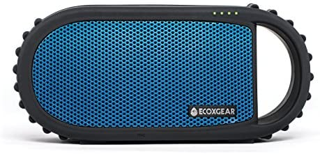 Ecoxgear Ecocarbon Bluetooth Waterproof Speaker blue