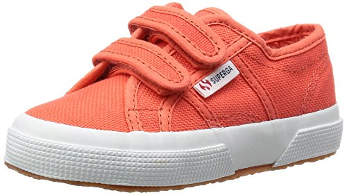 Superga 2750-Jvel Classic, Unisex-Kinder Tennisschuhe Orange (X7Y Red Coral)