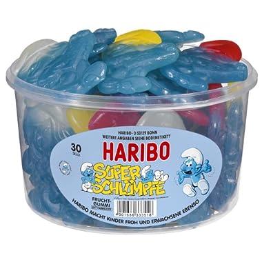 Haribo Die Schluempfe XL (Super Smurf Gummi Candy) (50 Oz.)