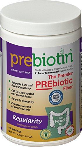 Prebiotin Prebiotic Fiber Supplement Regularity, 14.4 oz., 30 Servings