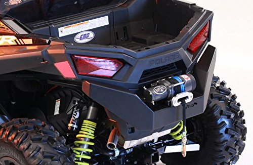 2015-16 RZR 900 Rear Bumper with Winch Mount By EMP (Rzr Winch Bumper)