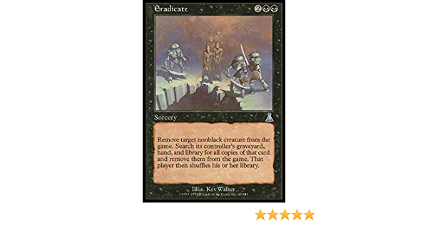 Eradicate Magic Card MTG Urza/'s Destiny