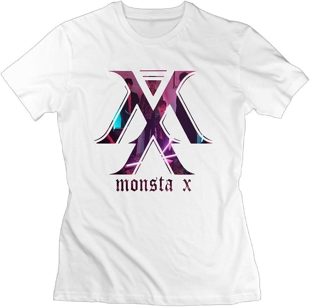 Quxiangy Womens Novelty Kpop Monsta X T-Shirt