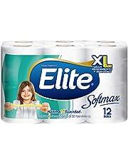 Elite Softmax Elite Softmax Papel Higiénico Doble Hoja 12 Rollos, color, 12 Rollos, pack of/paquete de
