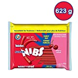 TWIZZLERS Licorice Candy, Cherry Super Long Nibs, 623 Gram
