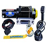Superwinch (1140230) Black 12 VDC LT4000ATV SR Winch - 4000 lb. Load Capacity