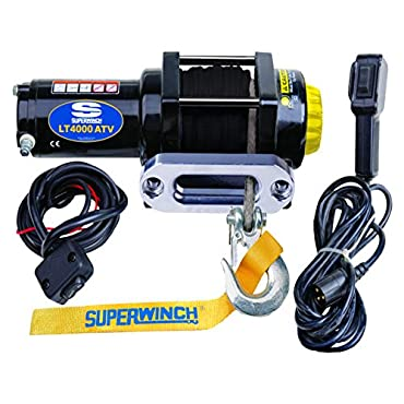 Superwinch LT4000ATV SR 12 VDC Winch with 4000 lb. Load Capacity (1140230)