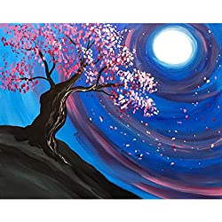 Sttech1 Oil Full Diamond Embroidery Painting New Paintworks Paint By Number for Kids and Adults - World Vortex (Psychedelic D)