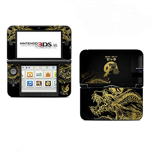 Ci-Yu-Online Charizard Black #1 Limited Edition VINYL SKIN STICKER DECAL COVER for Nintendo 3DS XL / LL Console System (Nintendo Xl 3ds Decal)