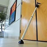 Dual Function Door Security Bar Jammer Home Brace Safety Lock Sliding Patio Mace