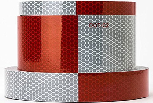 Starrey Reflective Tape Red White product image
