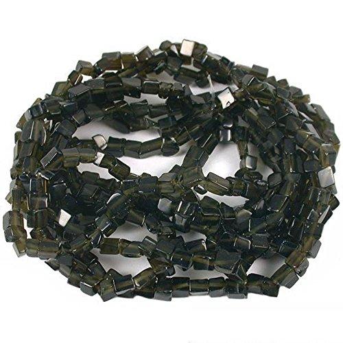 Black Fiber Optic Chip Beads Jewelry Beading 34