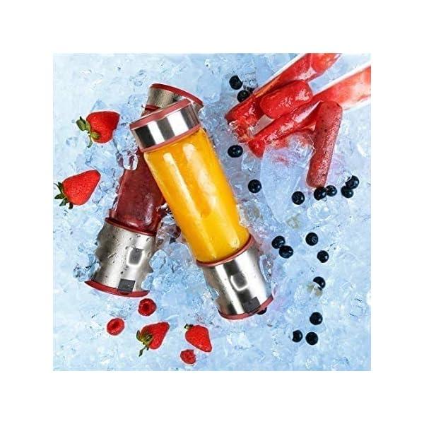 XYUN Juicer della frutta, Wide Mouth centrifuga Juicer Estrattore con Dual Speed Control for Frutta e verdura Juice… 5 spesavip
