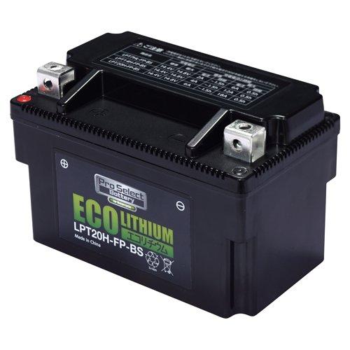 プロセレクト LPT20H-FP-BS バイク用エコリチウムイオンバッテリー 1個 365日メーカー保証 B01H9N7RY2