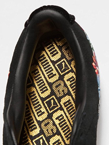Noir Hyper Pumat Embellished pour Femme Suede wxU11PqS