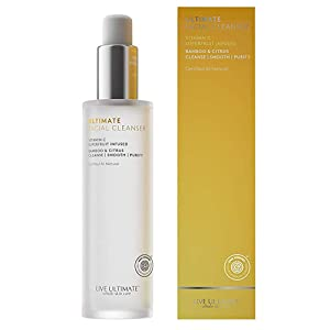 Live Ultimate   Ultimate Facial Cleanser 4OZ.  EWG Verified   Bamboo and Citrus Exfoliator