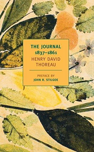 Pdf Literature The Journal of Henry David Thoreau, 1837-1861 (New York Review Books Classics)