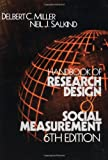 img - for Handbook of Research Design and Social Measurement: 6th (Sixth) Edition book / textbook / text book
