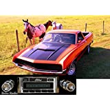 1970-1971 Ford Ranchero USA-630 II High Power 300 watt AM FM Car Stereo/Radio with iPod Docking Cable