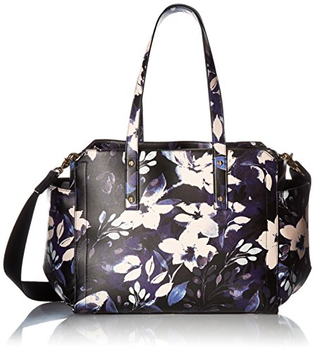 Ivanka Trump Soho Baby Bag, Black Night Garden