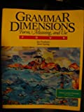 Grammar Dimensions, Jan Frodesen and Janet Eyring, 0838439713