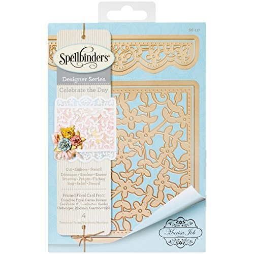 Card Creator Framed Floral Card Front Etched/Wafer Thin Dies ()