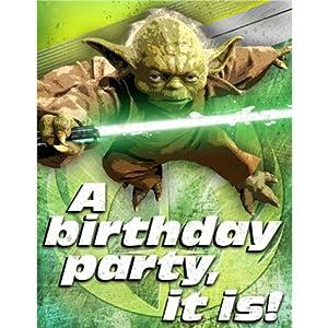 Amazon.com: Hallmark Star Wars Invitations (8ct): Arts, Crafts ...