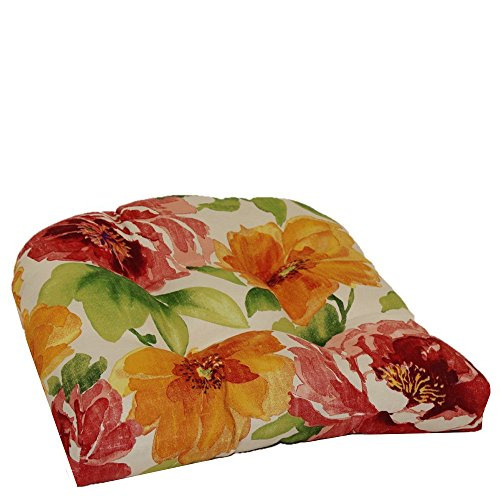 - Brentwood Originals Indoor/Outdoor Chair Cushion Brentwood, Muree Primrose, 1 piece