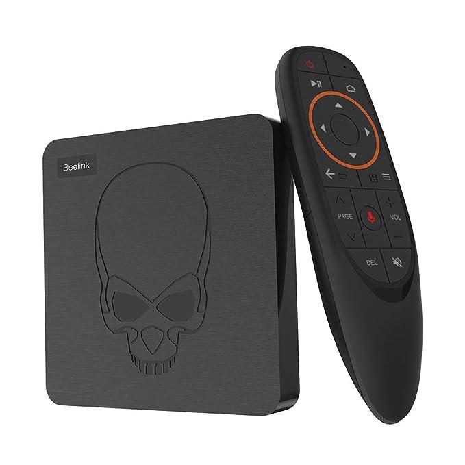 150 opinioni per Beelink Android 9.0 TV Box GT King,RAM 4G LPDDR4 2800MHz/ROM 64G 3D EMMC,Amlogic
