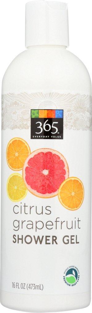 365 Everyday Value, Citrus Grapefruit Shower Gel, 16 fl oz