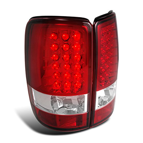 - Spec-D Tuning LT-DEN00RLED-TM Gmc Chevy Yukon Denali Suburban Tahoe Led Red Tail Lights