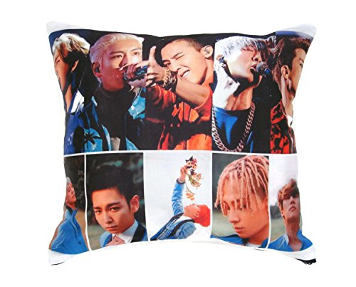 Vivid Big Bang Boy Band Kpop Pillowcase #0018