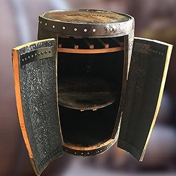 Amazon.de: Rustikale Solide Eiche Jack Daniel \'s Whisky Barrel ...