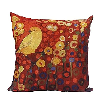 Amazon.com: Almofadas CoverSofa Waist Throw Cushion Cover ...