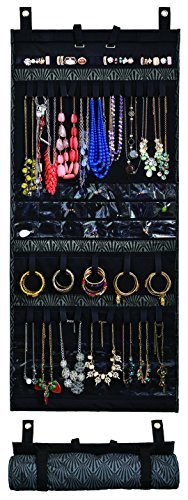 [Donna Walsh, The Ultimate Jewelry Scroll - Hanging Storage Organizer - Rolls Up For Travel - 50
