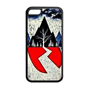 Protective iPhone 5/5s Case,Durable Protector Sirens Back Hard Cover Case For iPhone 5/5s