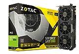 ZOTAC GeForce GTX 1080 AMP! Extreme, ZT-P10800B-10P, 8GB GDDR5X IceStorm Cooling, Metal Wraparound Carbon ExoArmor exterior, Dual-blade EKO Fan Gaming Graphics Card (Renewed)