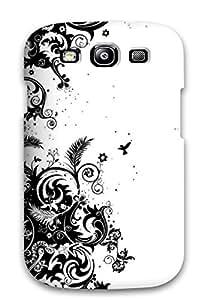 OwuczgR31zONRC ZippyDoritEduard Artistic Black And White Flower Feeling Galaxy S3 On Your Style Birthday Gift Cover Case